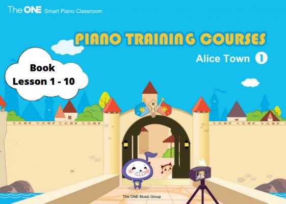 หนังสือมือหนึ่ง The One Smart Piano บทที่ 1-10