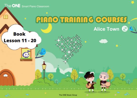 The One Smart Piano Hand book Lesson 11-20